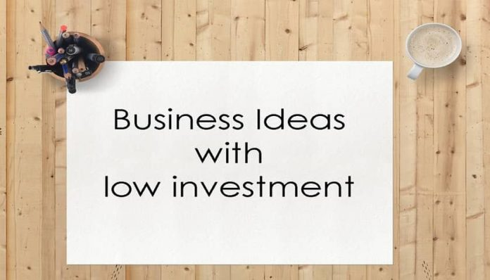 small investment business